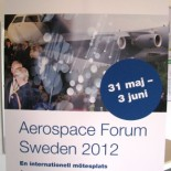 Aerospace Forum Sweden 2012