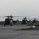 UH-60A Black Hawk na Plesu